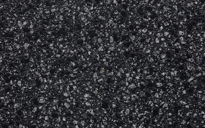 Download Wallpapers Asphalt 4k Stones Asphalt Texture Close Up Besthqwallpapers Com Road Texture Asphalt Texture Textured Wallpaper