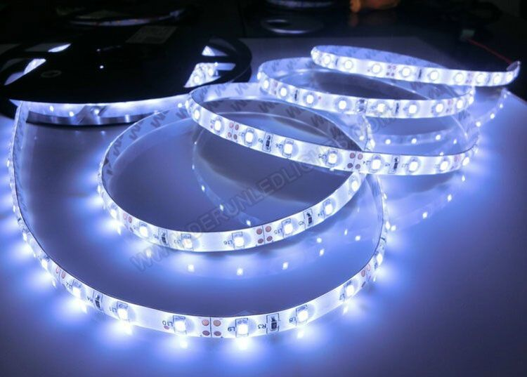 12V Waterproof Led Light Strips New 2835 12V 60W 8Mm 164Ft Roll 300Leds Ip65 Silicon Glue Waterproof 2018