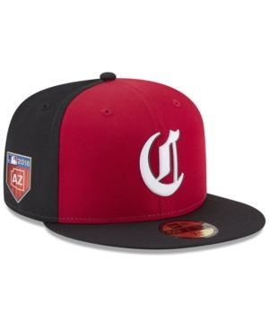 best service af9de 68ddc New Era Cincinnati Reds Spring Training Pro Light 59Fifty Fitted Cap - Red  7 5 8