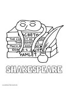 shakespeare coloring sheets yahoo image search results happy
