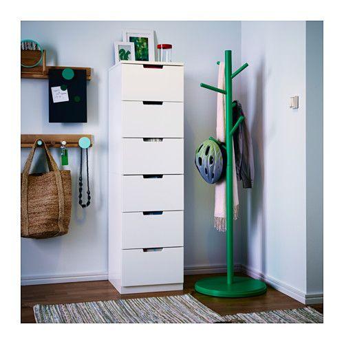 Til entré: Huer, vanter, regntøj - Nordli kommode / IKEA
