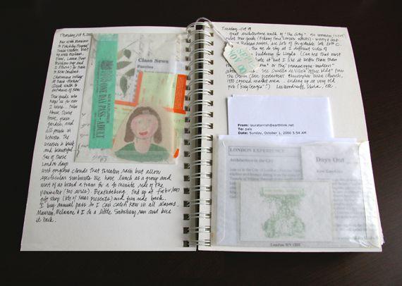 Laura Tarrish's travel journals (via Felt & Wire)