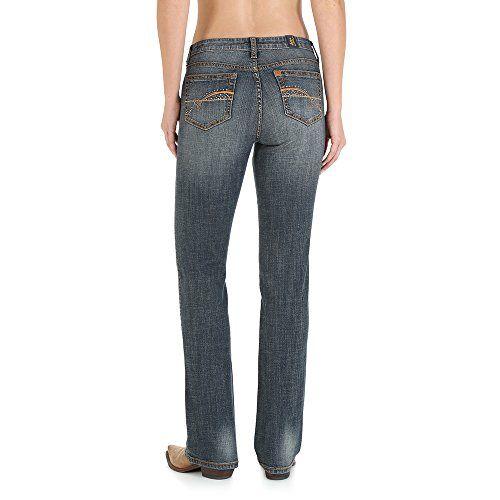 0fef0eafff Wrangler Women s Plus Size Aura Instantly Slimming Mid-Rise Jean ...