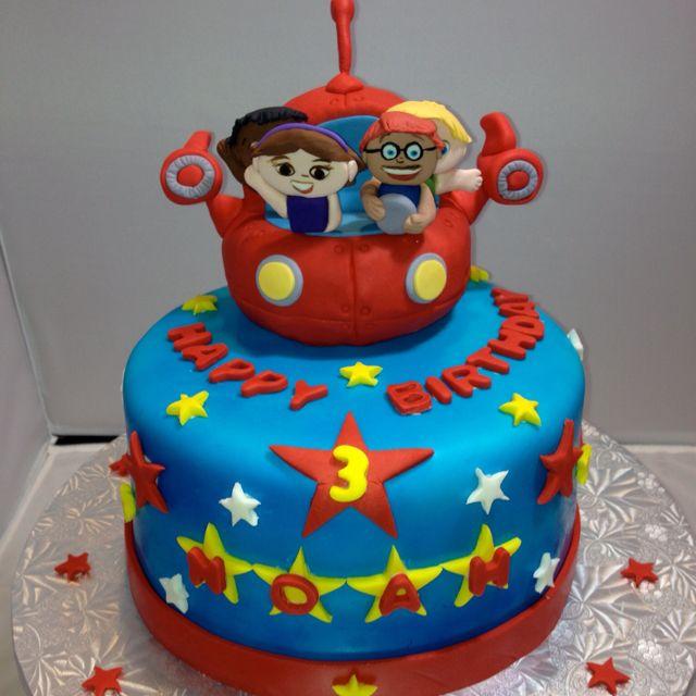 Little Einsteins 8 Round Birthday Cake Birthday Cake Toppers