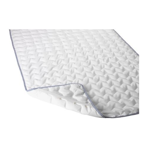 Ikea Skydda Mattress Pad Protects The Against Stains And Dirt Prolongs Its Life Quick To Remove Easy Wash