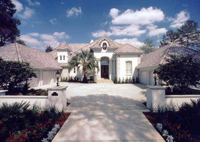 5 000 Sf One Story Provence Mediterranean Style Luxury