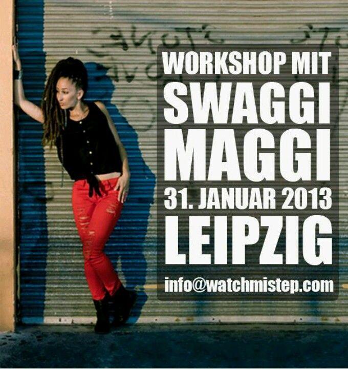 Swaggi Maggi in Leipzig || Dancehall Workshop 31. Januar 2013