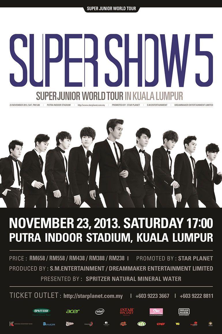 ERA fm MUZIK HIT TERBAIK - Super Junior Live in KL di ERA fm | Super  junior, Junior, Super