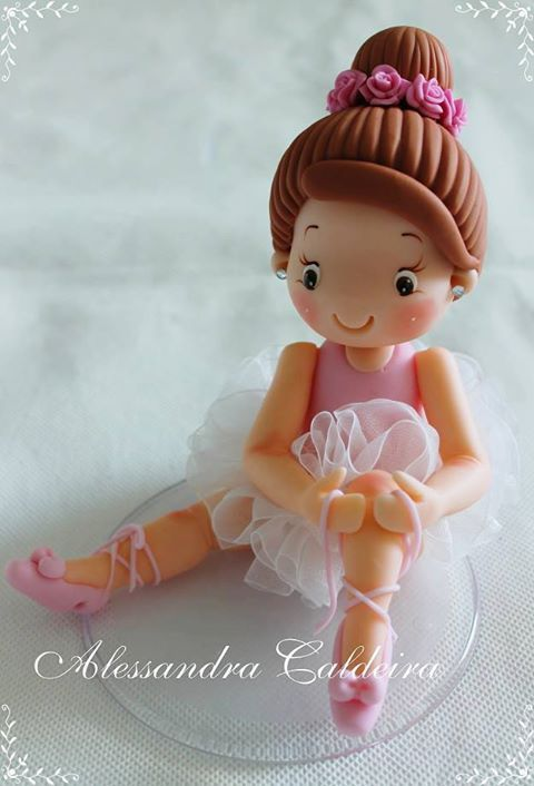 ballerina cake topper tutorial