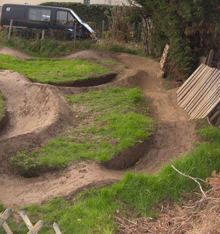 backyard pump track google search punptrack trail pinterest