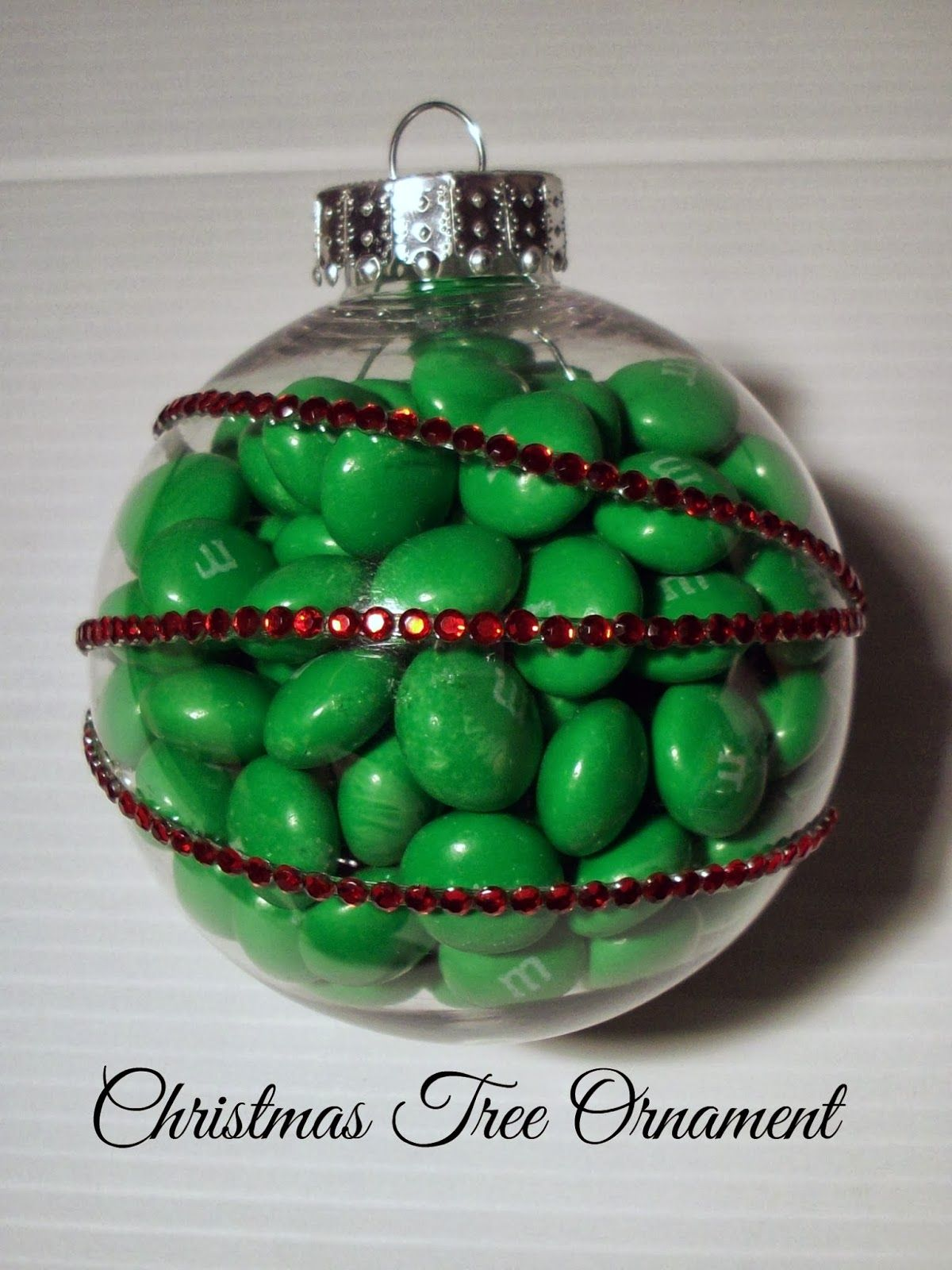 Christmas Ornament Craft with Gingerbread M&M\'s #HolidayMM #shop ...