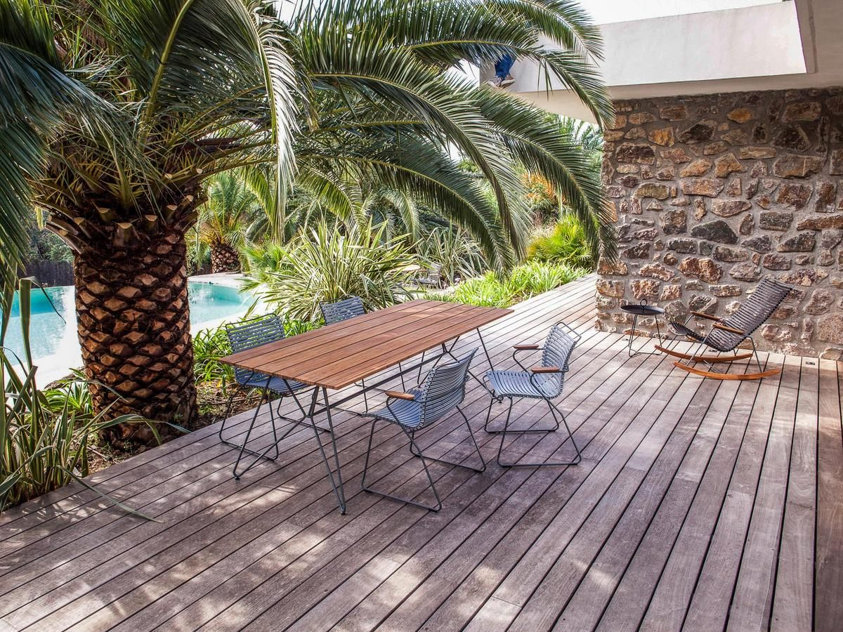 Houe Click Stuhl Terassenideen Outdoor Tisch Garten Und Outdoor