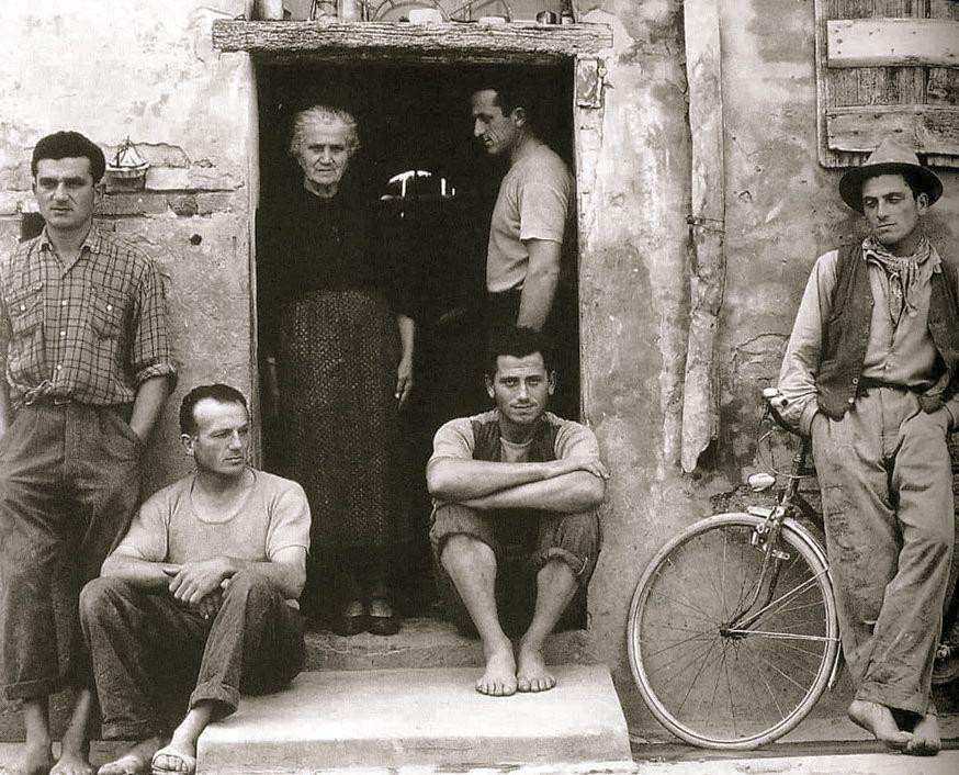 Lusetti family 1953 photo paul strand history of