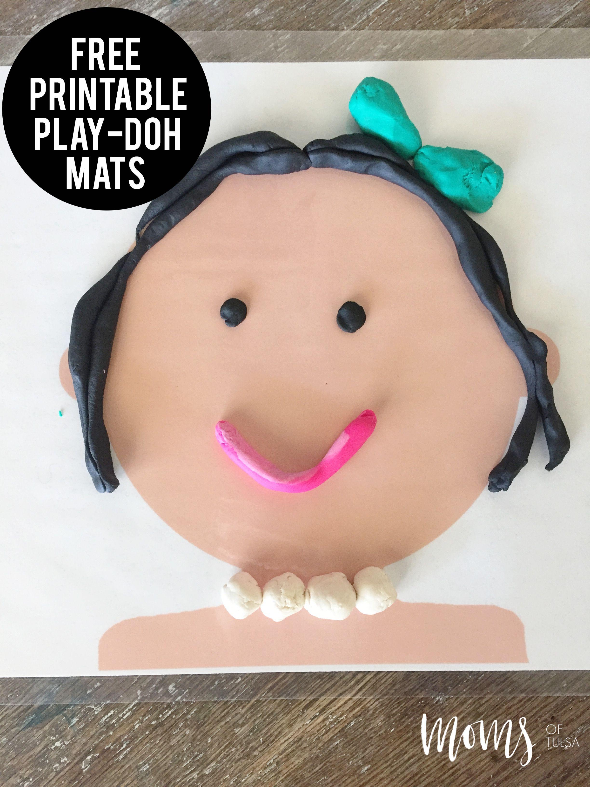 Play Doh Mats