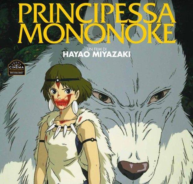Principessa Mononoke, il film animato torna al cinema dall'8 al 15 maggio