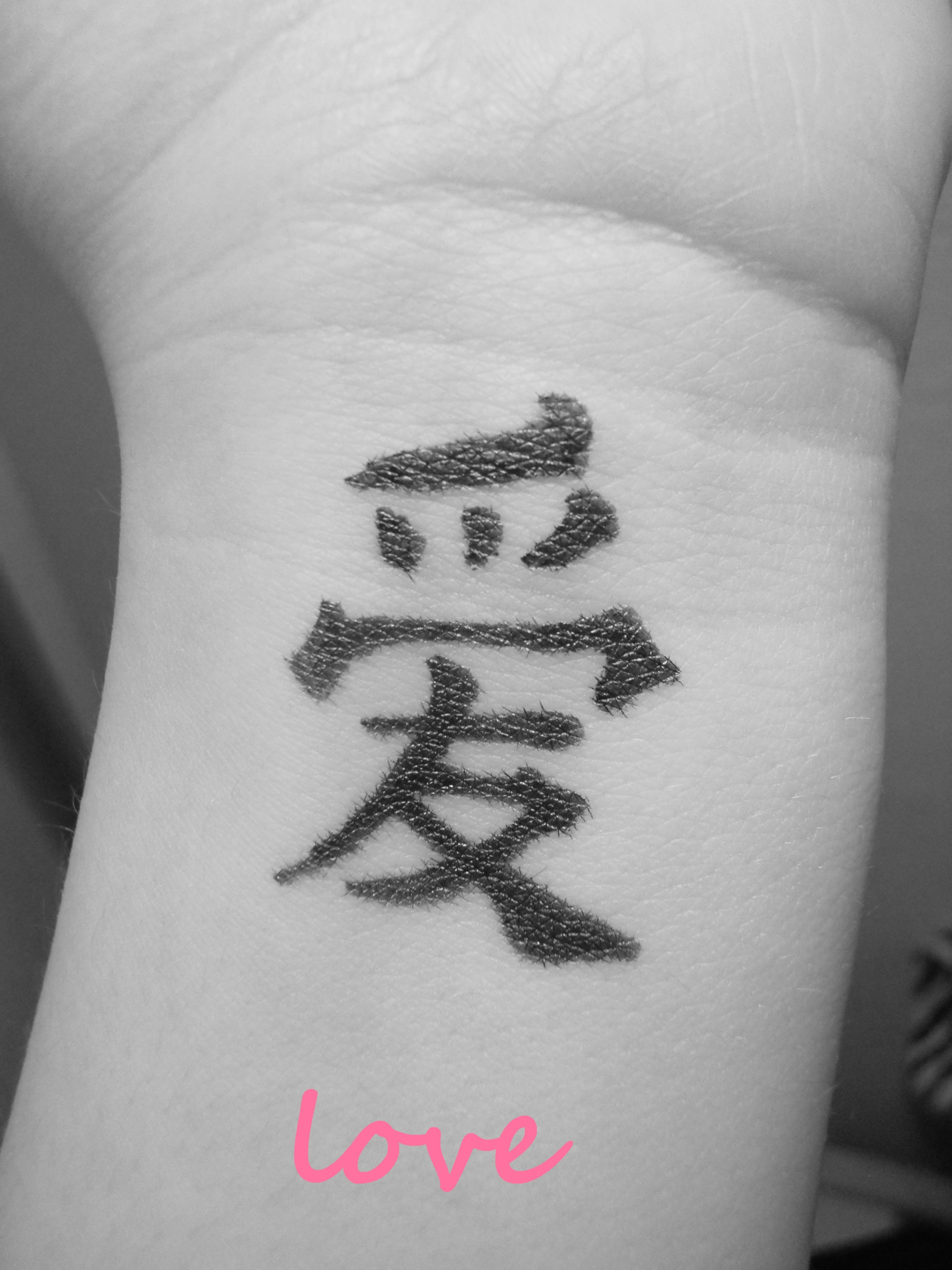 Chinese symbol for love that i would like to get on my arm between chinese symbol for love that i would like to get on my arm between wrist and buycottarizona Choice Image
