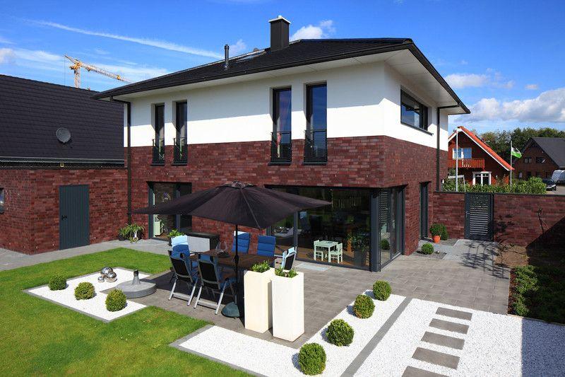 Stadtvilla weiße klinker  Fassade Klinker Putz | Fassade | Pinterest | Putz, Klinker und ...