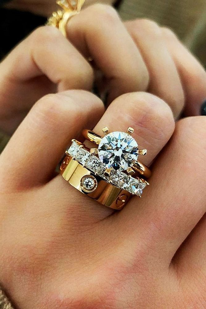 30 Beautiful Wedding Ring Sets For Your Girl Rocks Pinterest Wedding Rings Beautiful Wedding Rings And Rings