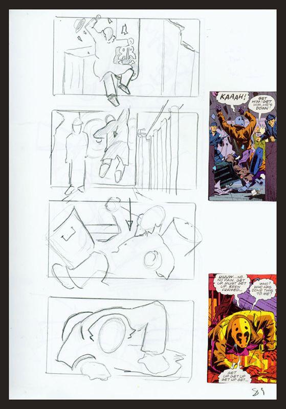 Watchmen Storyboard Artist Zack Snyder  Movie Storyboards