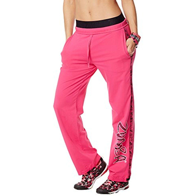 Zumba Fitness Women's Jammin' Jersey Pants ** Visit the