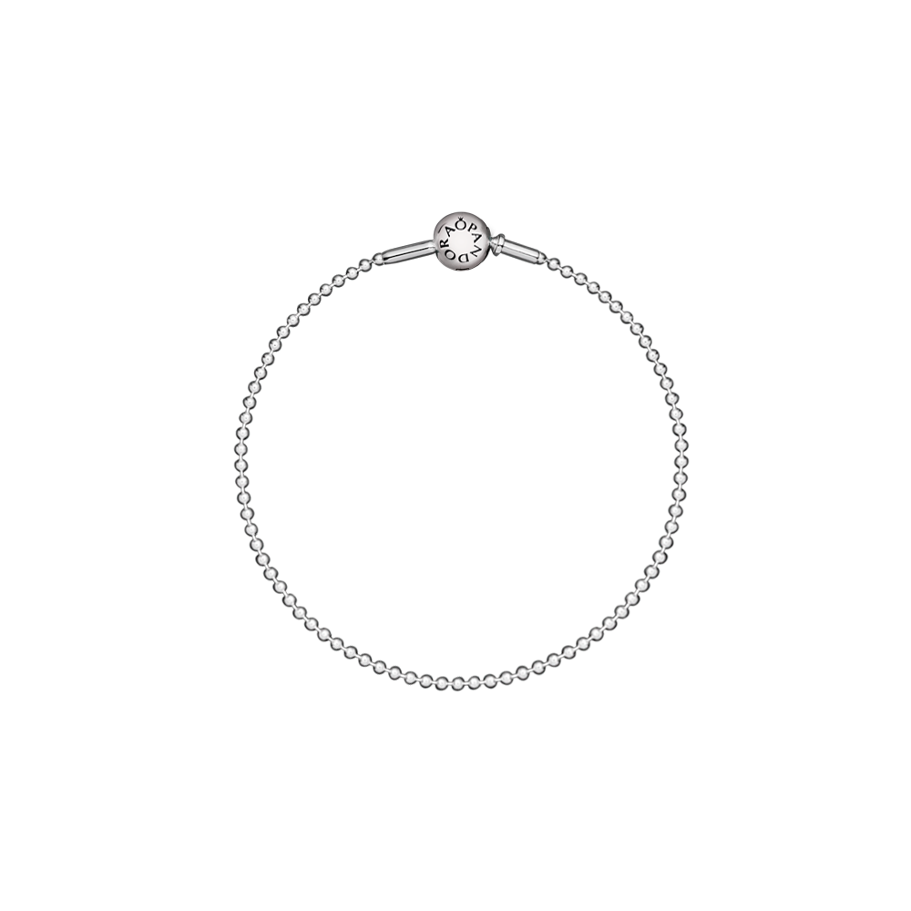 New PANDORA ESSENCE COLLECTION bracelet - the stylish beaded sterling silver bracelet has a timeless yet contemporary look. $60 #PANDORAessencecollection #PANDORAbracelet