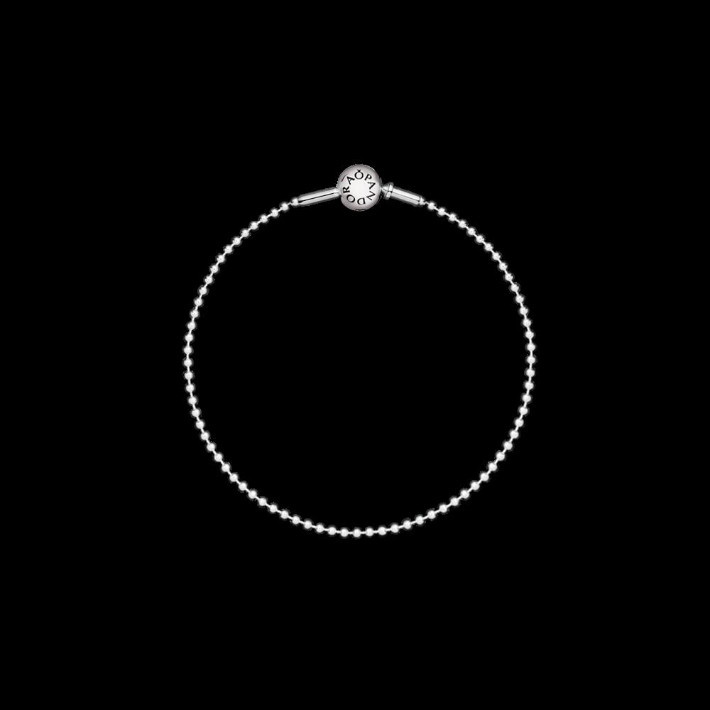 New PANDORA ESSENCE COLLECTION bracelet - the stylish beaded sterling silver bracelet has a timeless yet contemporary look. $60 #PANDORAessencecollection #PANDORAbracelet