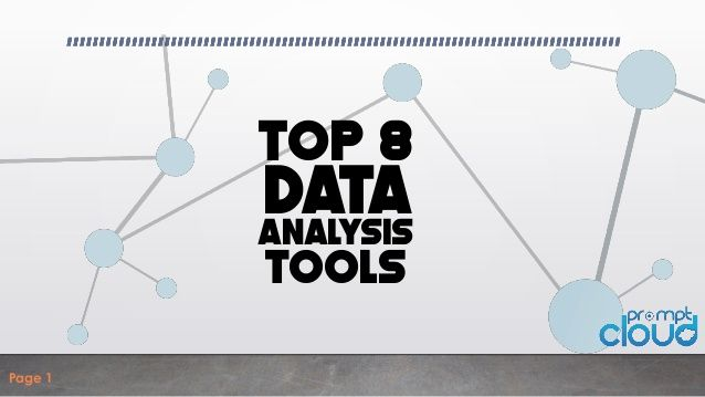 Eight Free Easy To Use And Powerful Tools To Help You Analyze