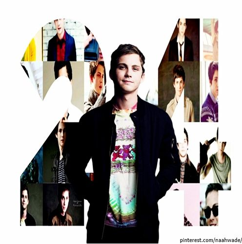 Happy Birthday Logan Lerman ! I'm so glad this day, my sweet Logan complete 24 years old :) . Dear wish you all the best . You are awesome Logan, and as a fan it is an honor for me to be doing this . Continues to be that person ... that perfect actor who always gives his best . Again Happy Birthday!   I Love You My Sweet Dear Logan Lerman .