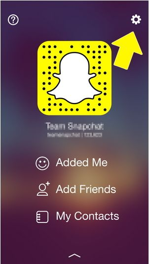 How to remove snapchat account iphone