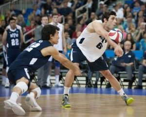 Byu Men S Volleyball Loses Season Opener To No 2 Loyola Chicago The Daily Universe Loyola Chicago Mens Volleyball Byu Sports