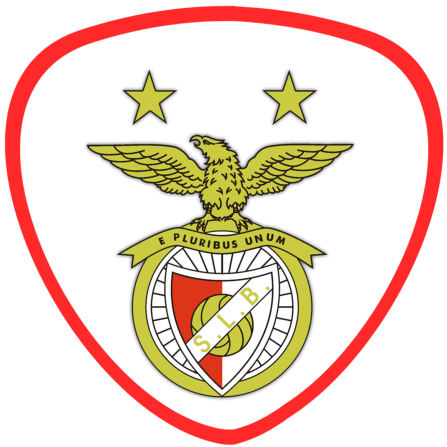 Benfica Club Badge Portugal Soccer Sport Team Logos