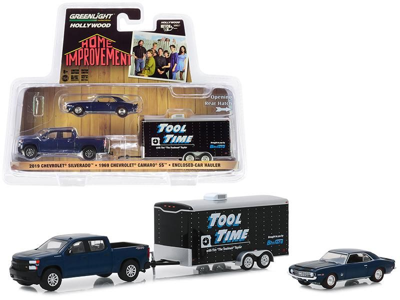 Greenlight Hollywood Hitch /& Tow Tool Time Home Improvement Camaro Chevy Trailer