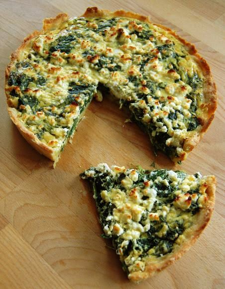 cookmania spinat feta quiche essen pinterest spinat feta quiche quiche und spinat. Black Bedroom Furniture Sets. Home Design Ideas
