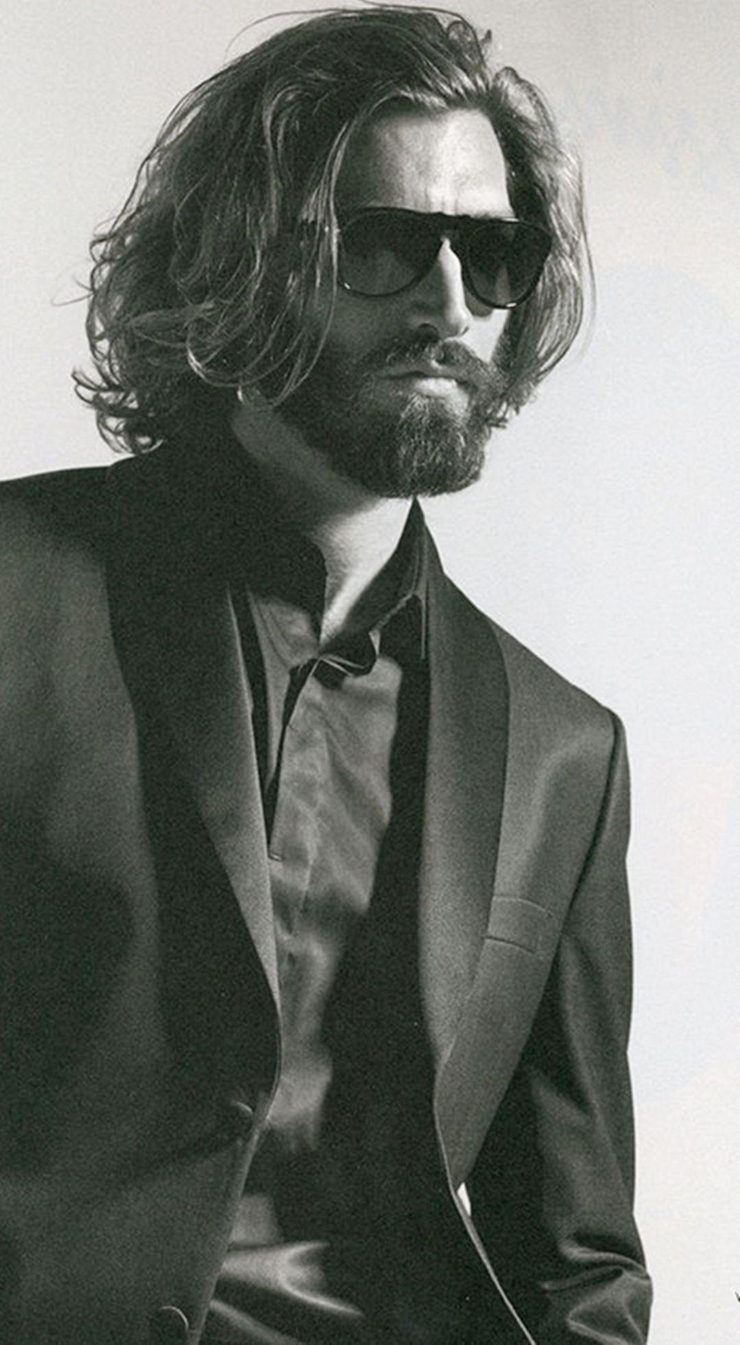 35 Fantastic Long Hair And Beard Ideas For Handsome Man #hairandbeardstyles