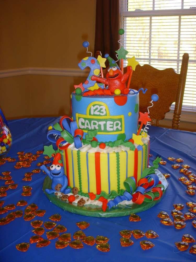 Elmo sesame street birthday party ideas photo 1 of 19