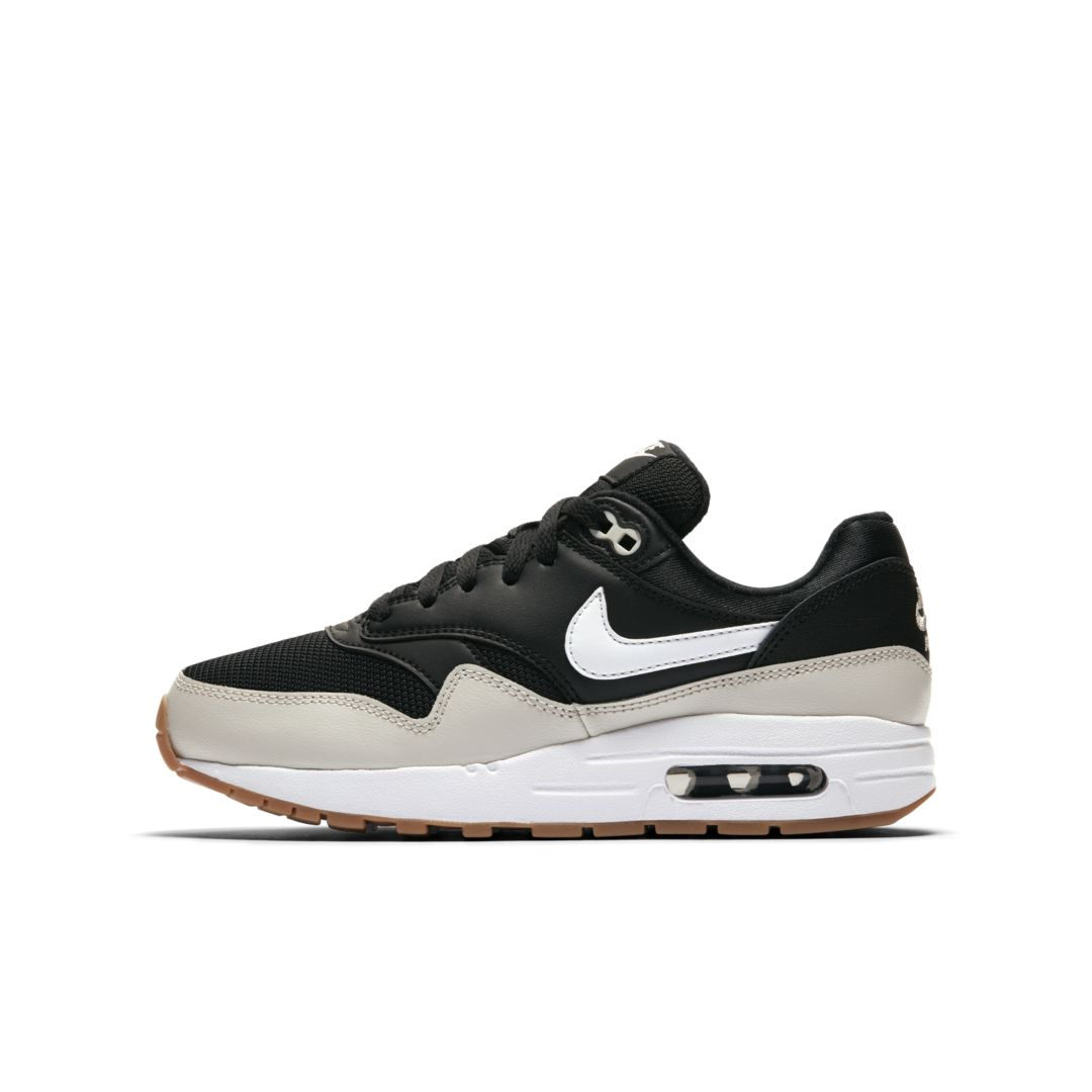 8e0a5a2429 Nike Air Max 1 Big Kids' Shoe Size 3.5Y (Black) | Products | Shoes ...