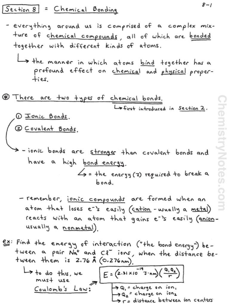 Chemical Bonding Chemistrynotes Com Vsepr Theory Chemistry Notes Chemistry Worksheets