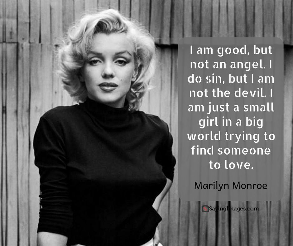 Best Marilyn Monroe Quotes Sayings Phrase Marie Et Citation
