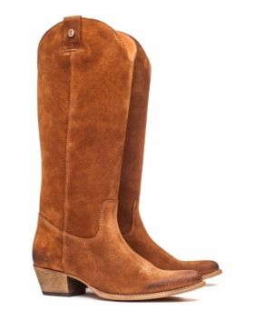 Botas marrones texanas de It-shoes #botas #boots #marrones #brown #texanas