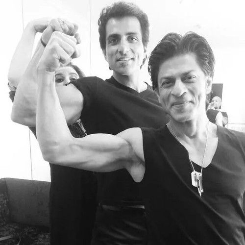 Image result for shahrukh sonu sood photo