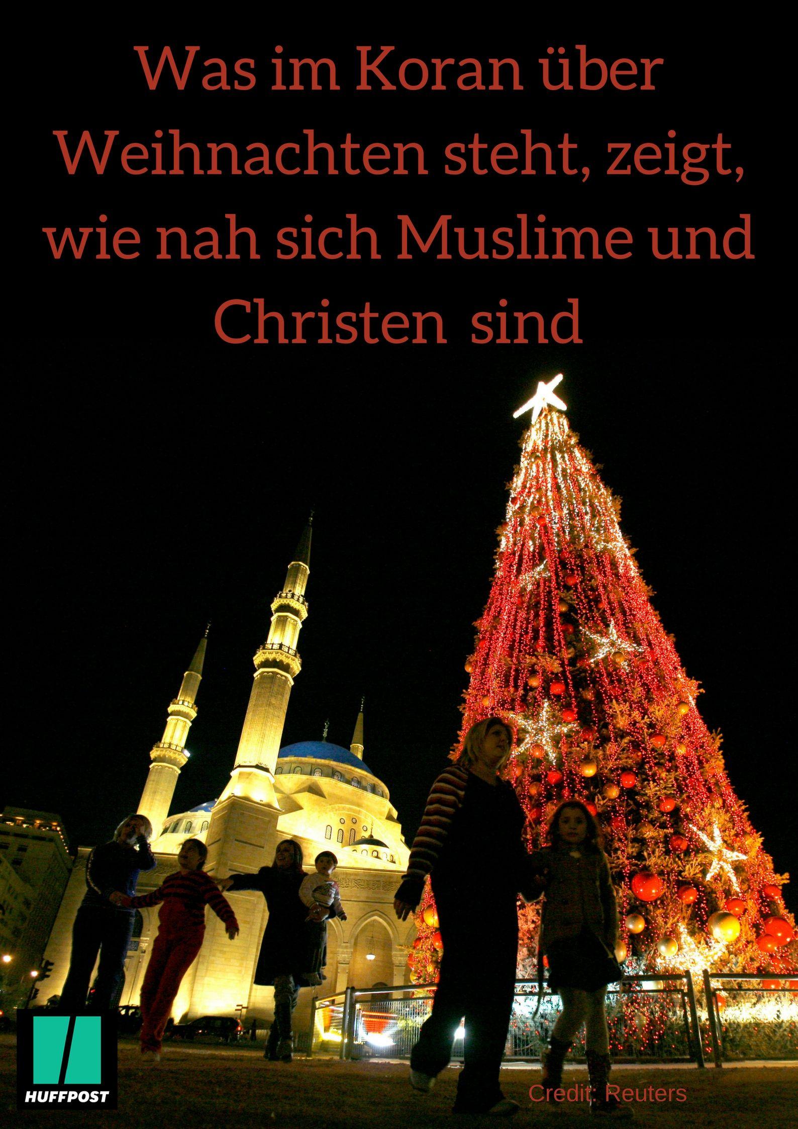 Weihnachten Im Christentum.Was Im Koran über Weihnachten Steht Zeigt Wie Nah Sich Muslime Und