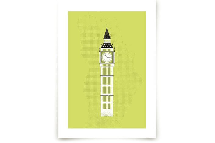 Big Ben Flare by Serenity Avenue at minted.com | For the Home ...