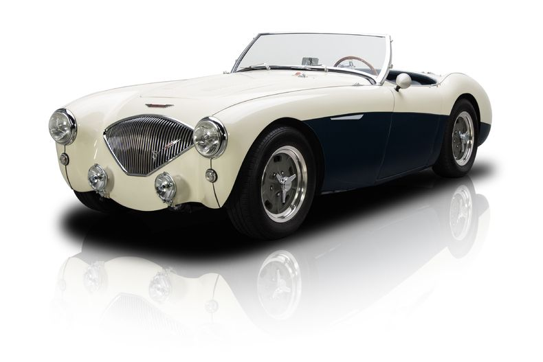 Neat 1953 Austin-Healey 100 Roadster with a 327 V8 and a 5 Speed