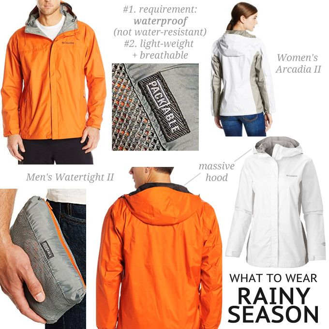 The Best Rain Jacket For Rainy Season In Thailand Men S And Women Jackets
