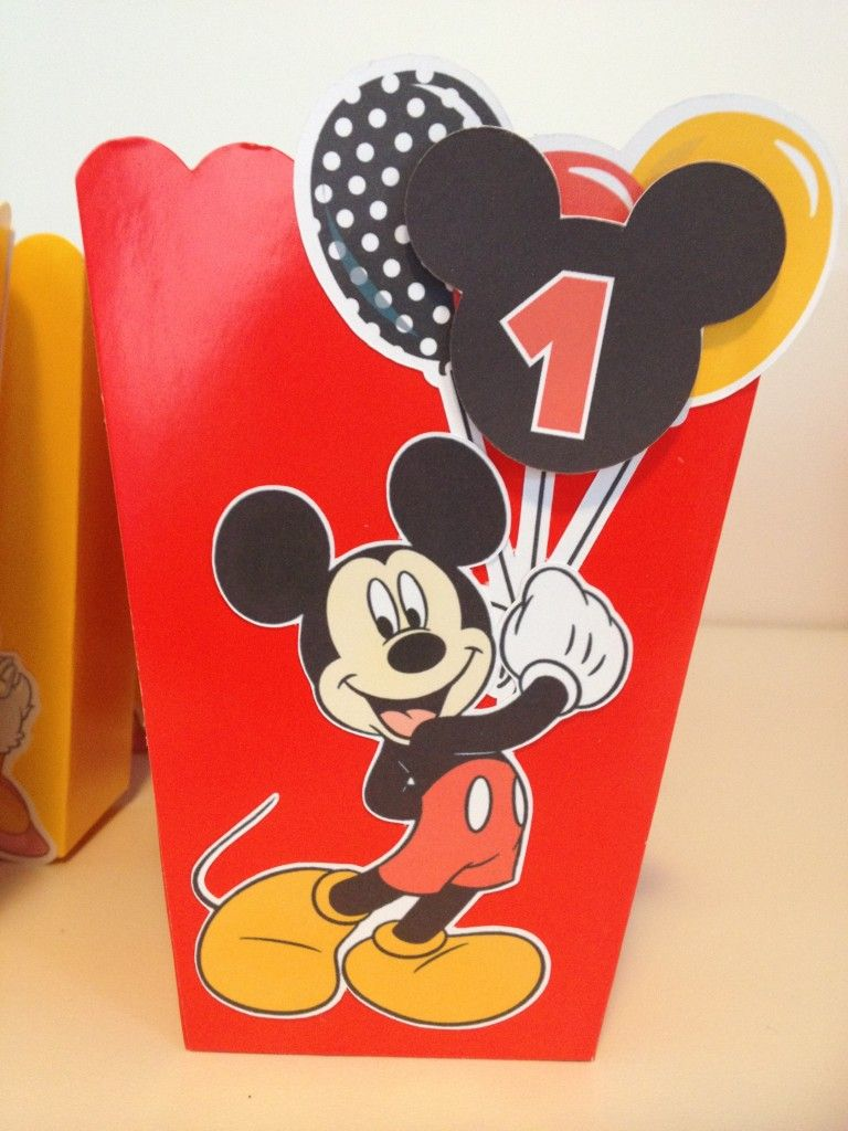 free mickey mouse birthday party printables