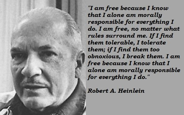 Robert Heinlein Quotes Unique Robertaheinleinsquotes2 587×367  Quotes  Pinterest