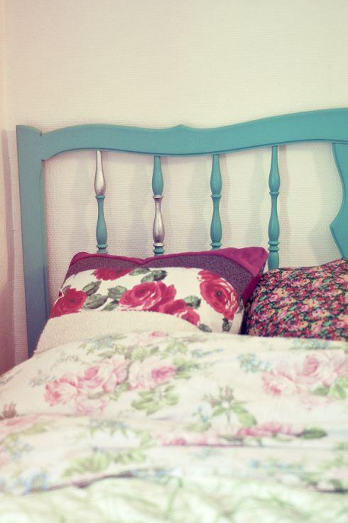 Pin by aurélie roger on déco bois Pinterest - peindre un lit en bois