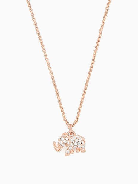 6e23cfc6c5023 Kate Spade Things we love pave elephant mini pendant | Products ...