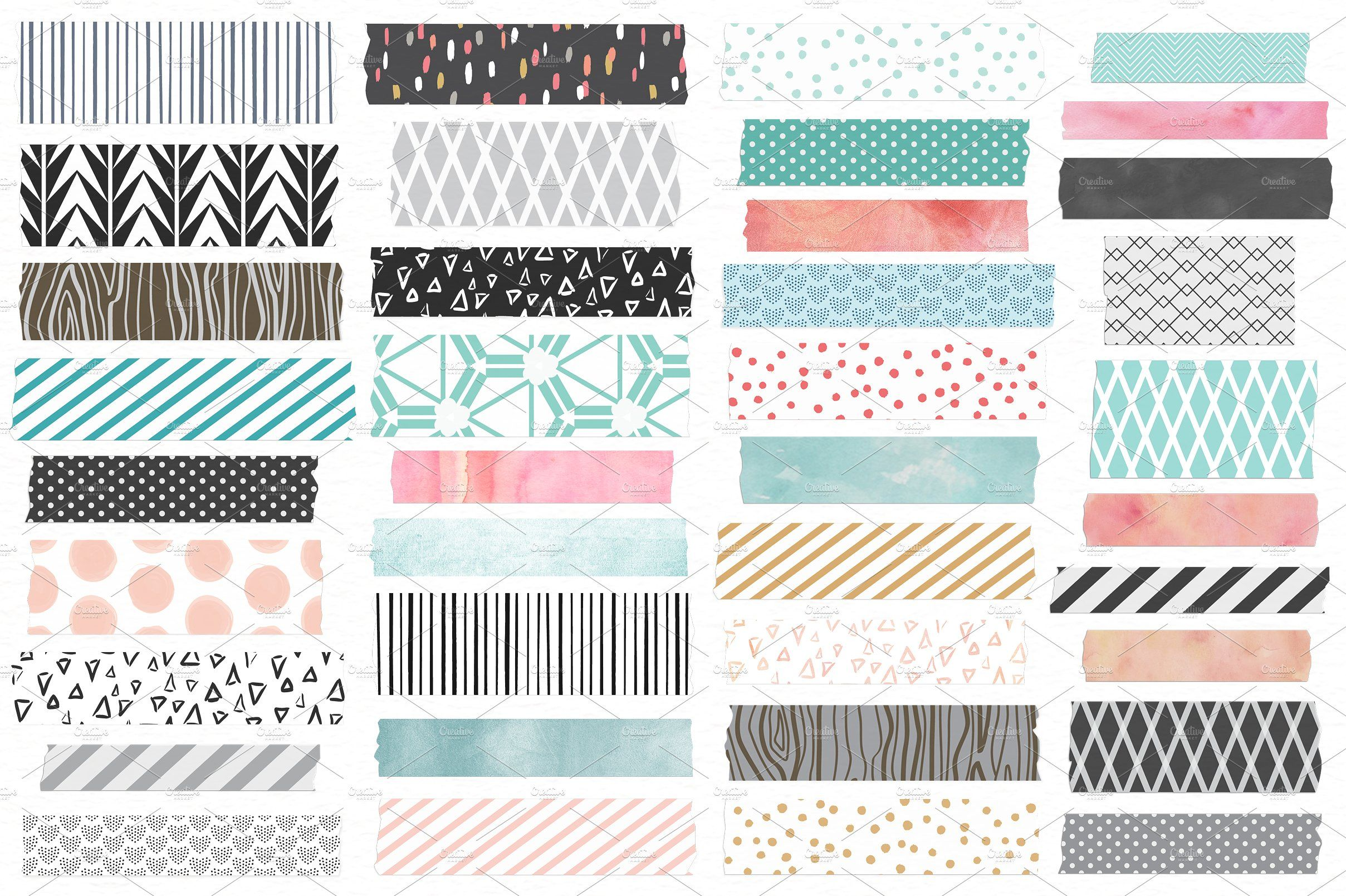 Washi Tape Frames And Notes Washi Tape Frame Bullet Journal Stickers Journal Stickers