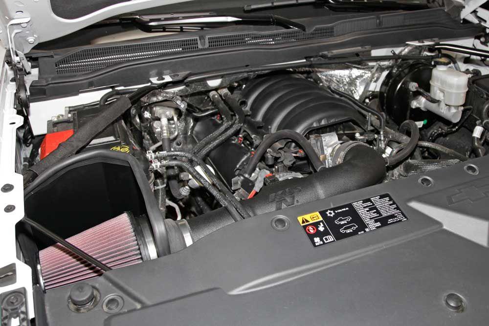 2014 2017 Chevy Gmc Pick Ups Erhohen Leistung Und Drehmoment Mit K N Luftansaugsystemen Silverado Sierra 1500 Chevy